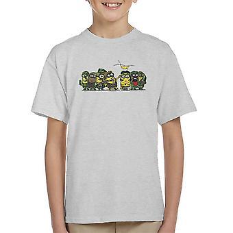 Håndlangere kød Grinder Platoon børne T-Shirt