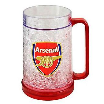 Arsenal Plastic Freezer Tankard