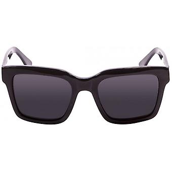 Ocean Jaws Sunglasses - Shiny Black/Smoke
