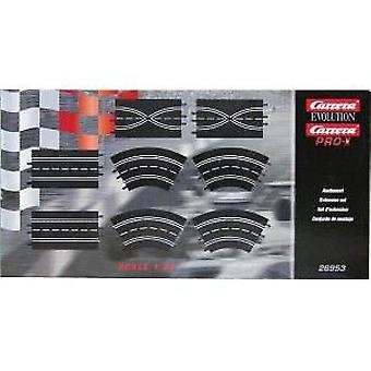 Carrera Carrera Evolution Extension Set (2Str./2Lane Ch./2Curves) 26953