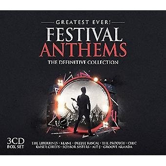 Største noensinne Festival Anthems - største noensinne Festival Anthems [DVD] USA import