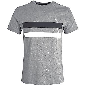Fred Perry Crew Neck Block Panel T-Shirt