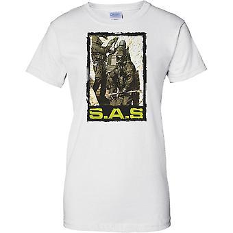 SAS hart Haus Eintrag - Special-Forces - Damen T Shirt
