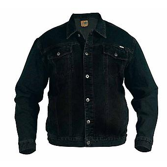 Duke Mens Kingsize Western Trucker Style Denim Jacket