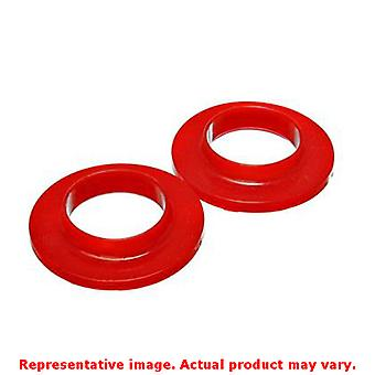 Energy Suspension Coil Spring Isolator Set 9.6118R Red Fits:UNIVERSAL 0 - 0 NON