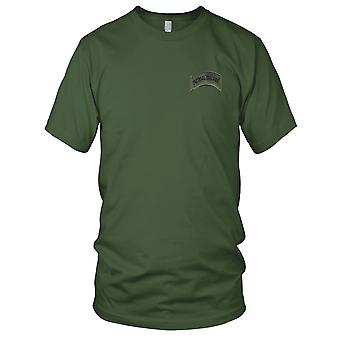 Armed Forces, Sheriffs And Police Tactical Tracker Rocker Embroidered Patch - Hook And Loop Mens T Shirt