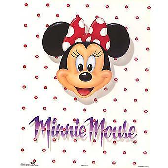 Minnie Mouse portræt plakat Print af Walt Disney (16 x 20)