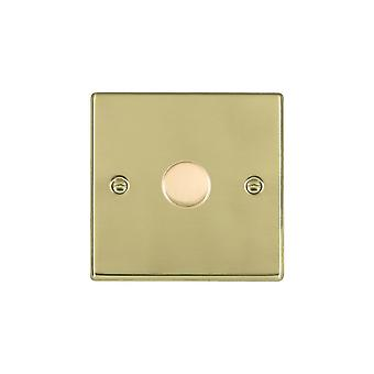 Hamilton Litestat Hartland Polished Brass 1g 300VA 2 Way Dimmer PB