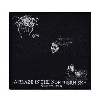 Darkthrone A Blaze In The Northern Sky Patch gewebt