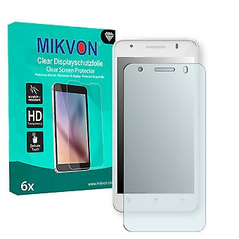 Archos 50c Helium 4G Screen Protector - Mikvon Clear (Retail Package con accessori)