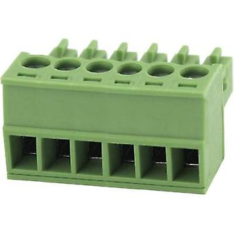 Pin enclosure - cable Total number of pins 6 Degson 15EDGK-3.5-06P-14-00AH Contact spacing: 3.5 mm 1 pc(s)