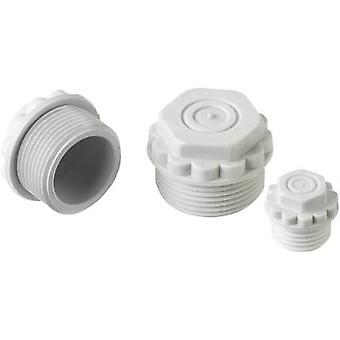 Filler plug with pierceable membrane M16 Polystyrene (EPS) Light grey (RAL 7035) LappKabel SKINDICHT® M16 1 pc(s)