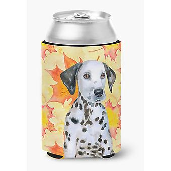 Carolines Treasures  BB9969CC Dalmatian Puppy Fall Can or Bottle Hugger
