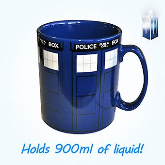 Doctor Who Tardis Mega krus