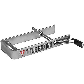 Titel boxning bärbara tunga Zip Handwrap Roller