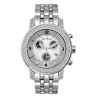 Joe Rodeo Diamant Herren Uhr - 2000 silber 1.5 ctw