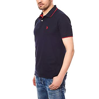 U.S. POLO ASSN. Men's polo shirt short-sleeved Navy