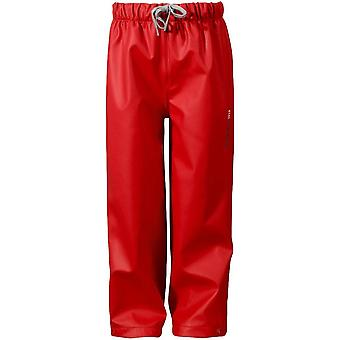 Didriksons Midjeman Kids Waterproof Pants - Red