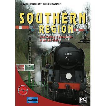 Sydlige Region Woking til Basingstoke Add-On for MS Train Simulator (PC)