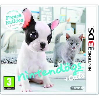 Nintendogs  Cats French Bulldog  New Friends (Nintendo 3DS)