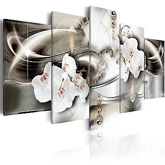 Tableau - Orchids among the waves of gold