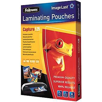 Laminate sheet Fellowes A4 125 micron glossy 100 pc(s)