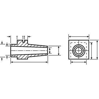 HellermannTyton H121 PVC-FR BK 500 Cord sleeve Terminal Ø (max.) 8 mm PVC Black 1 pc(s)