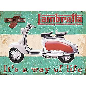 Lambretta Way Of Life Fridge Magnet