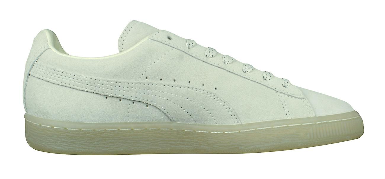 release date: 5b187 f5a83 Puma Suede Classic Mono Ref Iced Mens Trainers / Shoes - Whisper White