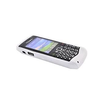 OEM Blackberry funda de piel de silicona para Blackberry 3 9100, 9105 - translúcido