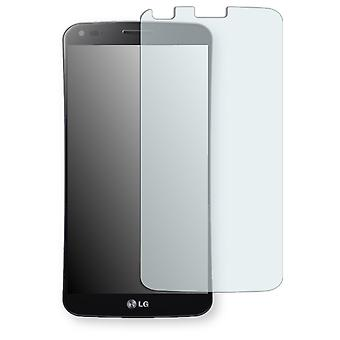 LG D950 G Flex display protector - Golebo crystal-clear protector (deliberately smaller than the display, as this is arched)