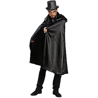 Cape black mens costume Beelzebub Cape Carnival
