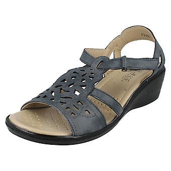 Eaze Sandals F3105 Navy Size UK 7
