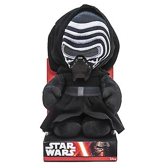 Star Wars plush figure Kylo Ren episode 7 multicolor, 100% polyester, Velboa velvet plush, in display box.
