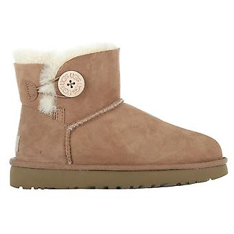 UGG Classic Mini Bailey Button Chestnut 1016422CHE universal winter women shoes