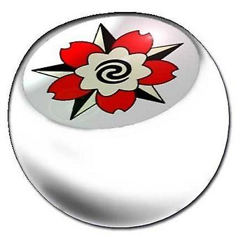 Piercing Replacement Ball White, Body Jewellery, Flower | 1,6 x 5 and 6 mm