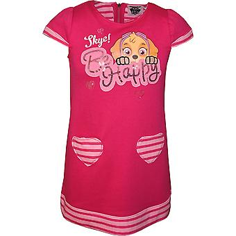 Girls RH1118 Paw Patrol Short Sleeve Dress Size 3-6 Years