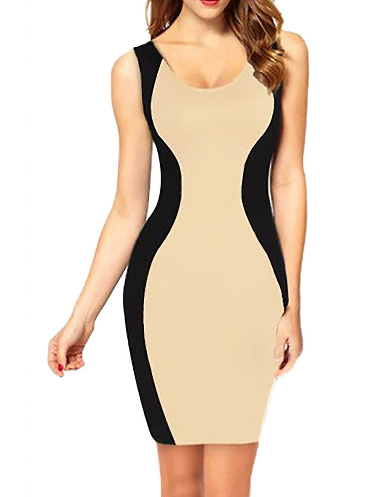 Waooh - Fashion - Fitted Dress bicolor