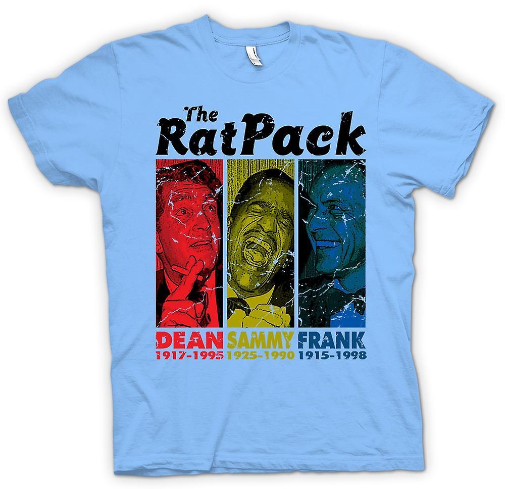 Herren T-Shirt - Rat Pack - Dean Martin - Sammy - Frank Sinatra