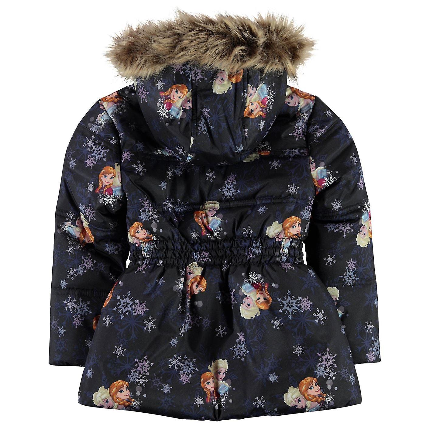 7dab52389 Character Kids Girls Padded Coat Infant Jacket Top Long Sleeve Hooded Zip  Full
