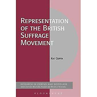 Representation of the British Suffrage Movement (Corpus and Discourse)