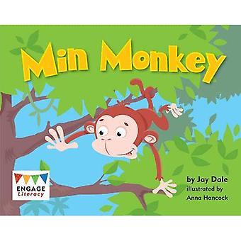 Min apina (harjoittaa lukutaitoa punainen)