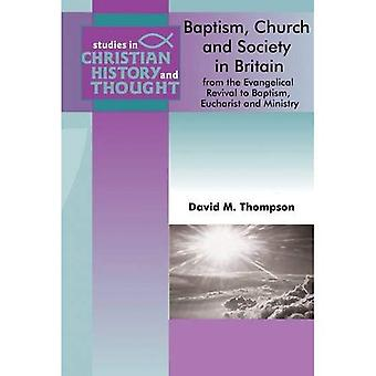 BAPTISM CHURCH AND SOCIETY IN BRITAIN FR