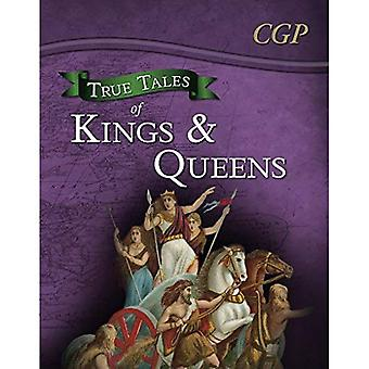 True Tales of Kings & Queens  Reading Book: Boudica, Alfred the Great, King John & Queen Victoria