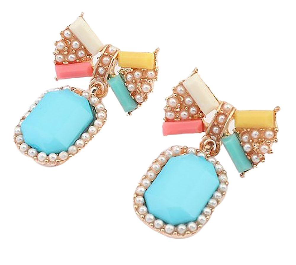Waooh - Earrings with strap-shaped node Baca?