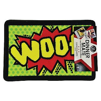 Pet Rebellion Woof Food Mat