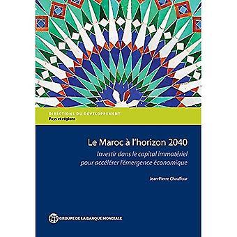 Le Maroc eine l ' Horizon 2040: Investir Dans le Capital Immateriel pour Accelerer l? Entstehung Economique (Richtungen in Entwicklung - Länder und Regionen)