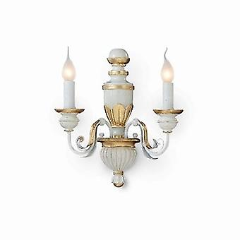Ihanteellinen Lux - Firenze norsunluuta ja kultaa seinä valo IDL012902