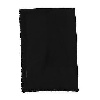 Saint Laurent Black Cashmere Scarf
