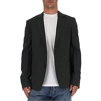 Prada Grey Cotton Blazer
